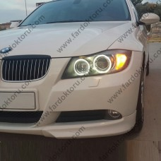 BMW E90 BEYAZ LED ANGEL EYES ENCIL AMPULÜ (2006-2009) 316 320