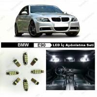 BMW E90 KOMPLE BEYAZ LED İÇ AYDINLATMA AMPUL SETİ 316i 320i 320d