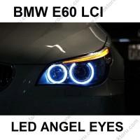 BMW E60 LCI 5 SERİSİ BEYAZ LED ANGEL EYES AMPULÜ