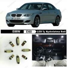 BMW E60 LED İÇ AYDINLATMA AMPUL SETİ