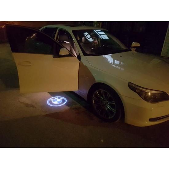 BMW KAPI ALTI LED LOGO ORİJİNAL TAK KULLAN ÜRÜN