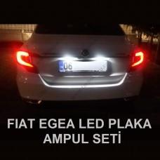FIAT EGEA LED PLAKA AYDINLATMA SETİ