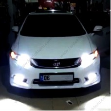 HONDA CIVIC FB7 LED XENON UZUN FAR AMPULÜ HB3 PHOTON ACORN