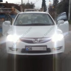 HONDA CIVIC FD6 LED XENON UZUN FAR AMPULÜ PHOTON MONO HB3