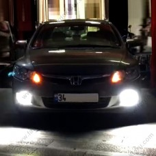 HONDA CIVIC FD6 LED XENON SİS FARI AMPULÜ PHOTON DUO H11