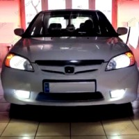HONDA CIVIC ES7 VTECH LED XENON KISA FAR AMPULÜ PHOTON HB4