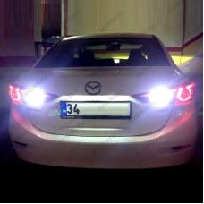 MAZDA 3 SEDAN BEYAZ LED GERİ VİTES AMPULÜ W16W T15