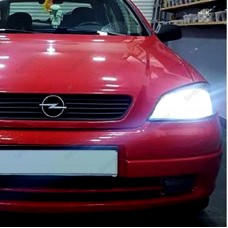 OPEL ASTRA G LED XENON UZUN FAR AMPULÜ PHOTON DUO HB3