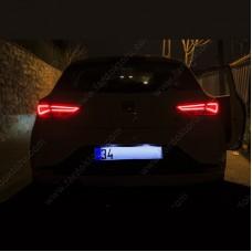 SEAT LEON MK3 LED PLAKA LAMBASI AMPUL SETİ