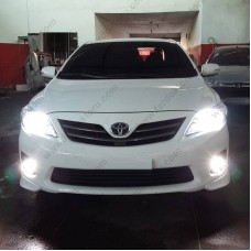 TOYOTA COROLLA E150 LED SİS FAR AMPULÜ PHOTON DUO H11
