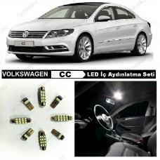 VW CC KOMPLE BEYAZ LED İÇ AYDINLATMA AMPUL SETİ