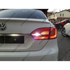 VW JETTA MK6 BEYAZ LED GERİ VİTES MERCEKLİ LED AMPULÜ