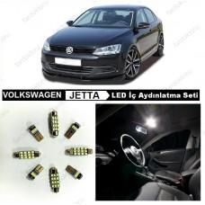 VW JETTA MK6 KOMPLE BEYAZ LED İÇ AYDINLATMA AMPUL SETİ