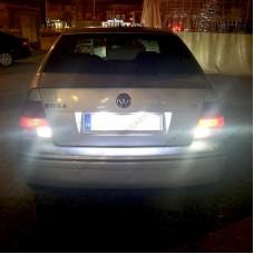 VW BORA LED GERİ VİTES AMPULÜ MERCEKLİ PLATINUM 93 DUY P21W