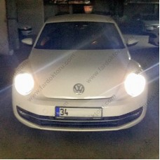 VW NEW BEETLE PHOTON MILESTONE H4 TİP LED XENON OTO AMPULÜ