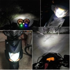 MOTOSİKLET LED FAR AMPULÜ H4 MİNİ 6000K K1 GOLD