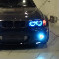 BMW E36 E39 E46 MAVİ ANGEL EYES CCFL ENCIL HALKA SETİ