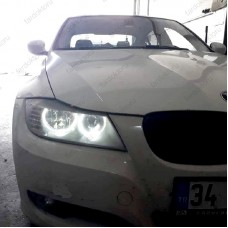 BMW E90 LCI HALOJEN FAR BEYAZ LED ANGEL EYES AMPUL