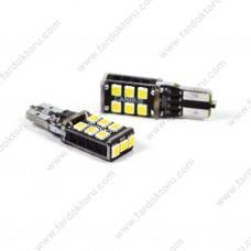 PHOTON T15 BEYAZ LED GERİ VİTES OTO AMPUL 15SMD PH7018