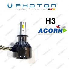 H3 LED XENON OTO AMPULÜ PHOTON ACORN PLUS 4