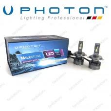 H4 LED XENON PHOTON MILESTONE PLUS 3 OTO AMPULÜ 55Watt