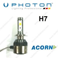 H7 LED XENON OTO AMPULÜ PHOTON ACORN 6000K  5000 Lümen