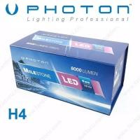 PHOTON MILESTONE H4 TİP LED XENON OTO AMPULÜ 6000K  8000 Lümen
