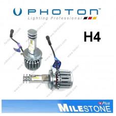 PHOTON MILESTONE H4 LED XENON OTO AMPULÜ 6000K  8000 Lümen