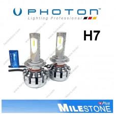 PHOTON MILESTONE H7 LED XENON OTO AMPULÜ 6000K  8000 Lümen
