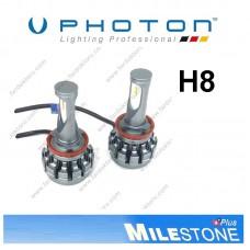 PHOTON MILESTONE H8 LED XENON OTO AMPULÜ 6000K  8000 Lümen