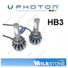 PHOTON MILESTONE HB3 9005 LED XENON OTO AMPULÜ 6000K  8000 Lümen