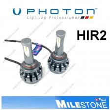 PHOTON MILESTONE HIR2 9012 LED XENON OTO AMPULÜ 6000K  8000 Lümen