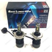 H4 LED XENON OTO AMPULÜ 6000K 8200Lm FEMEX COSMO