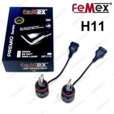 H11 LED XENON OTO AMPULÜ FEMEX PREMIO 7200 Lümen