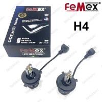 H4 LED XENON OTO AMPULÜ FEMEX PREMIO 7200 Lümen