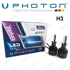 H3 LED XENON OTO AMPULÜ PHOTON DUO