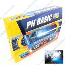 PHOTON PH BASIC XENON OTO AMPUL SETİ H7 8000K