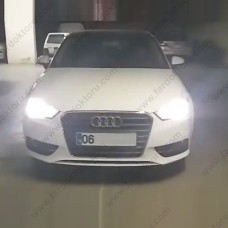 AUDI A3 LED XENON PHOTON KISA FAR AMPULÜ H7 ULTIMATE