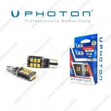 PHOTON T10 T15 CANBUS TURUNCU LED OTO AMPUL W16W PH7018NA